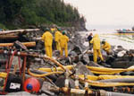 Exxon Valdez Oil Spill Cleanup Operations